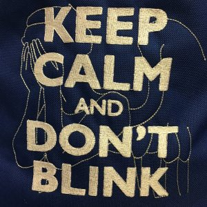 design-kepp-calm-dont-blink